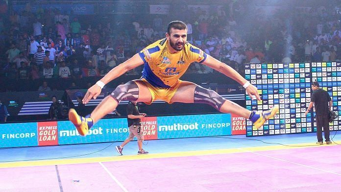 Ajay Thakur has been one of the best raiders in the PKL.