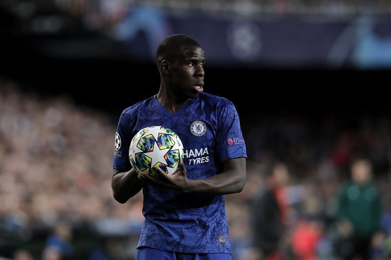 French defender Kurt Zouma is attempting to establish himself as a first-team regular at Chelsea