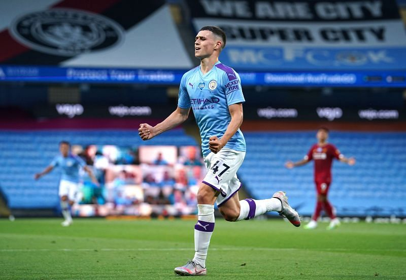 Pep Guardiola has praised Phil Foden