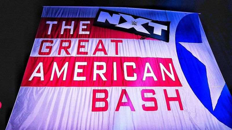 The Great American Bash was recorded yesterday