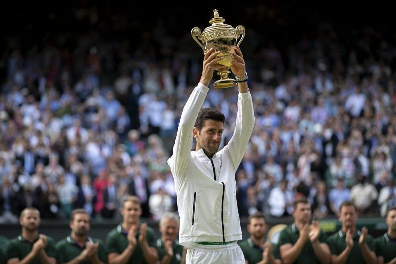 Novak Djokovic has often talked about how yoga and meditation have helped his tennis career