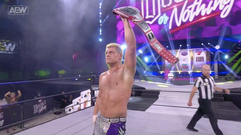 The TNT Championship has gotten a huge facelift ahead of Cody Rhodes