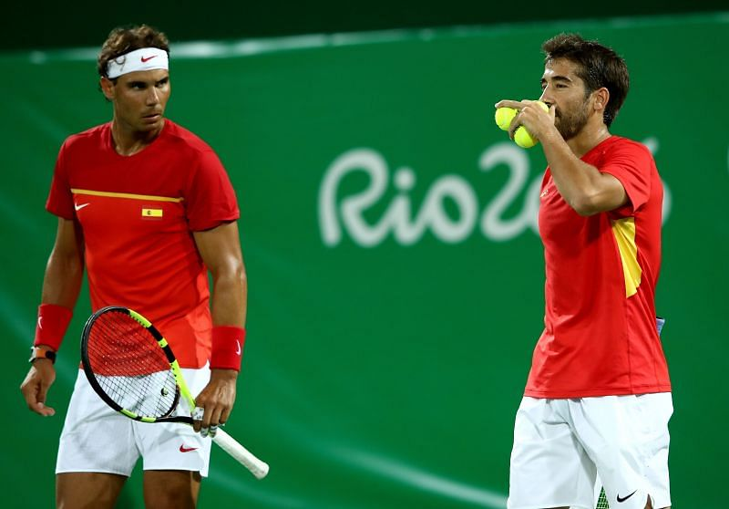 Rafael Nadal and Marc Lopez would be looking to add to their Olympic medal tally