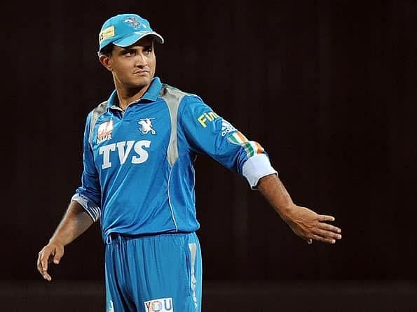 Sourav Ganguly played for PWI after being signed as an injury replacement