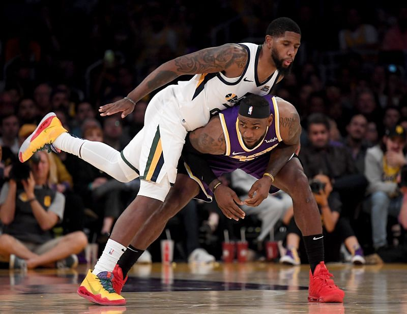 The LA Lakers take on the Utah Jazz