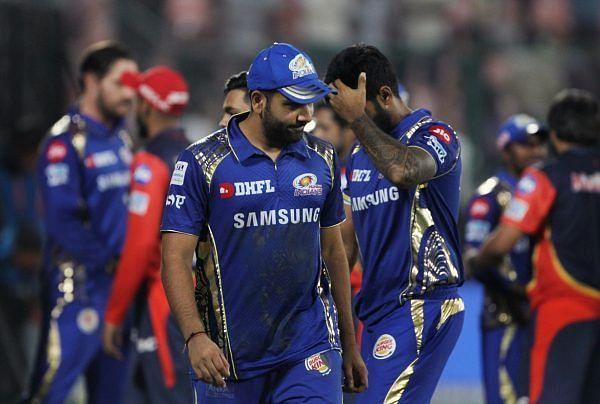 Mumbai Indians knocked out