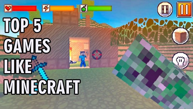 Best games like Minecraft for iOS (Image Credits: Mobile Gameplay Video Channel, YouTube)