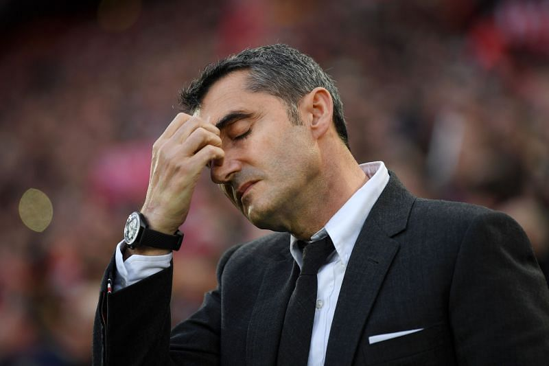 Ernesto Valverde's time with Barcelona will be remembered for lows like the 4-0 second-leg defeat to Liverpool in the Champions League semifinals.