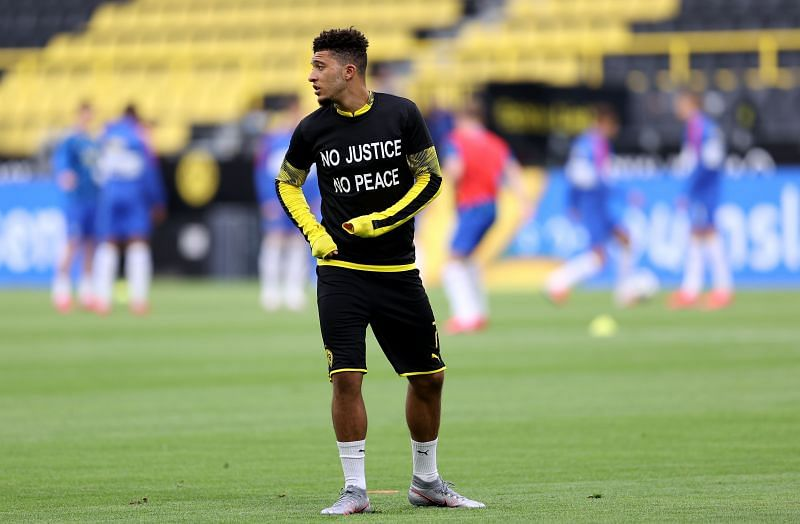 Jadon Sancho could yet be on the move this summer