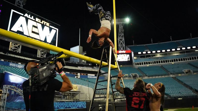 AEW held the first ever Stadium Stampede match at AEW Double or Nothing in May