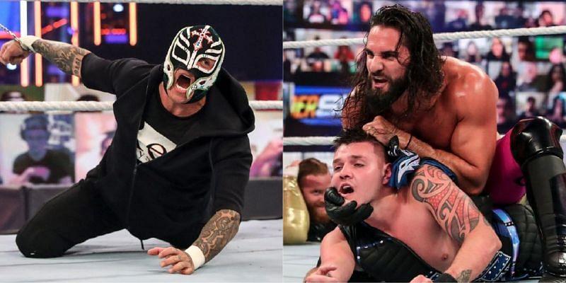 WWE दिग्गज रे मिस्टीरियो और सैथ रॉलिंस
