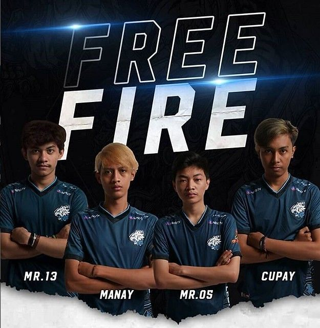 Indonesian Free Fire professional players (Image Credits: Garena Free Fire)