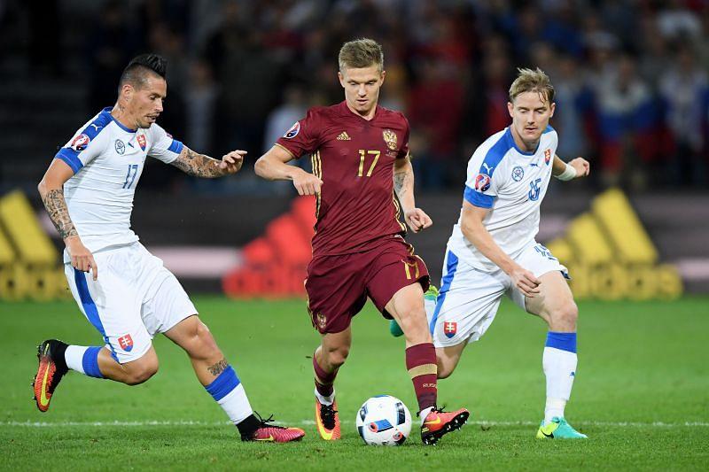 Rubin Kazan have played much better since the return of Russian international Oleg Shatov