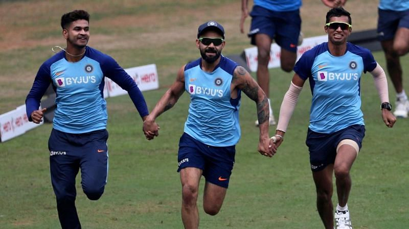 Navdeep Saini said that Virat Kohli appreciates bowlers who share their own opinion with him while bowling.
