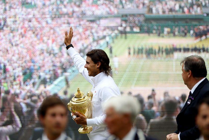 Rafael Nadal won his second Wimbledon title in 2010