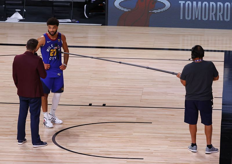 Jamal Murray interview after Denver Nuggets win Game 6