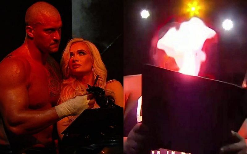 [WATCH] Karrion Kross uses fire to attack Keith Lee, NXT Champion rushed to hospital