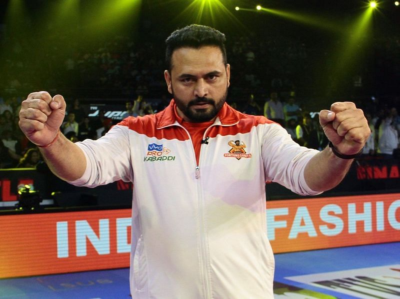 Manpreet Singh is the head coach of the Gujarat Fortunegiants in the Pro Kabaddi League