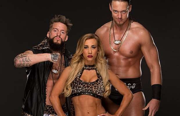 Carmella was part of a team with Enzo & Cass