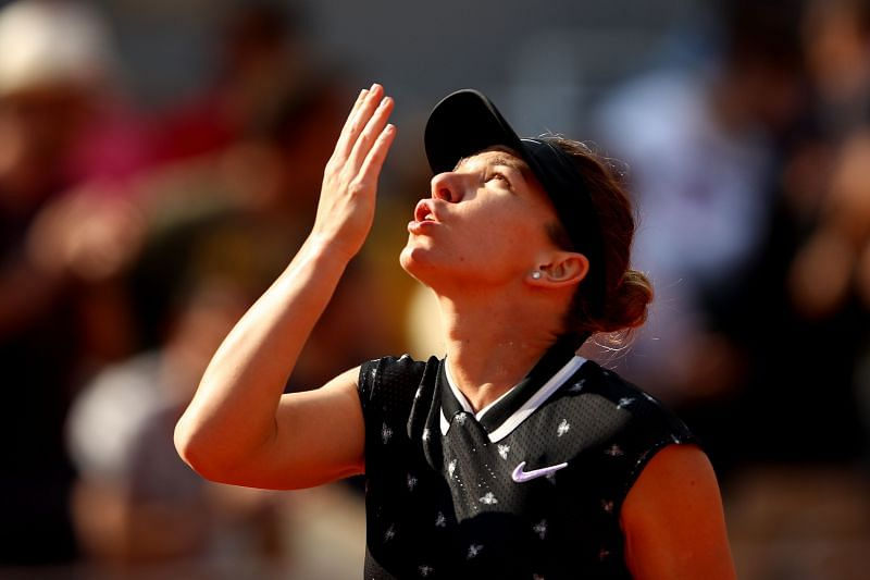 Simona Halep has had to battle hard in both her matches this week.