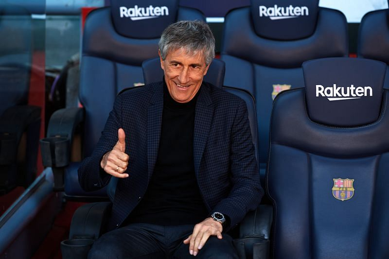 FC Barcelona sacked Quique Setien earlier this month