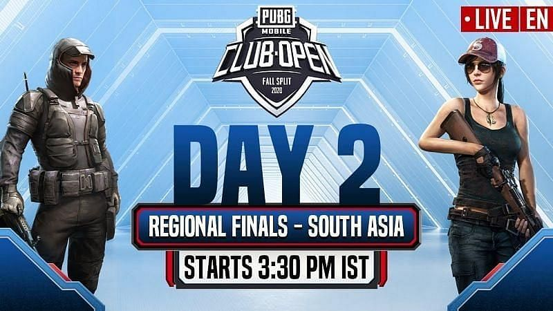 PMCO Fall Split 2020 South Asia finals stage Day 2