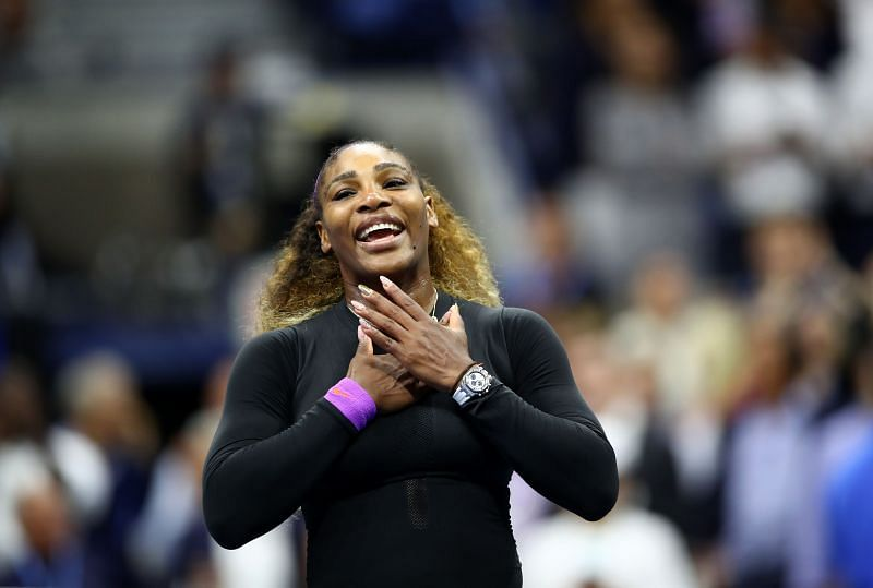 Serena Williams faces Arantxa Rus in her first match in New York
