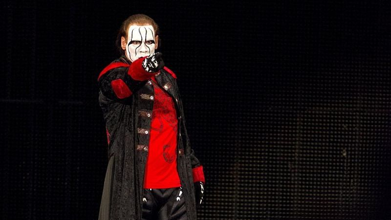 A man called Sting (Pic Source: WWE)