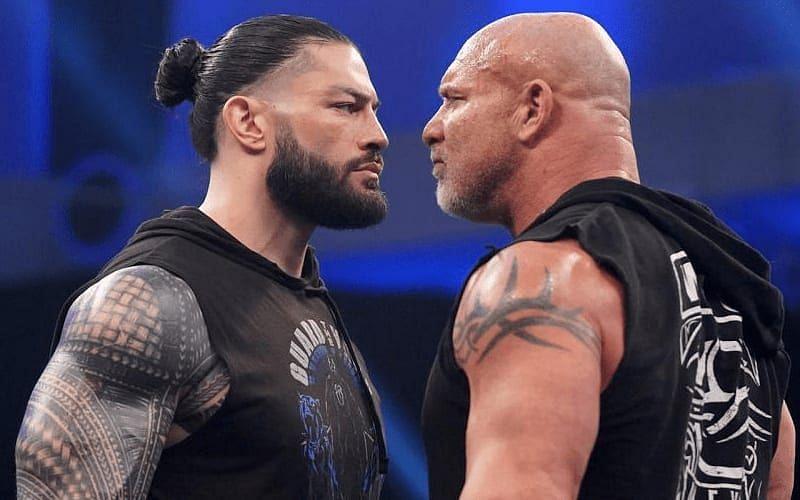 WWE सुपरस्टार रोमन रेंस और गोल्डबर्ग