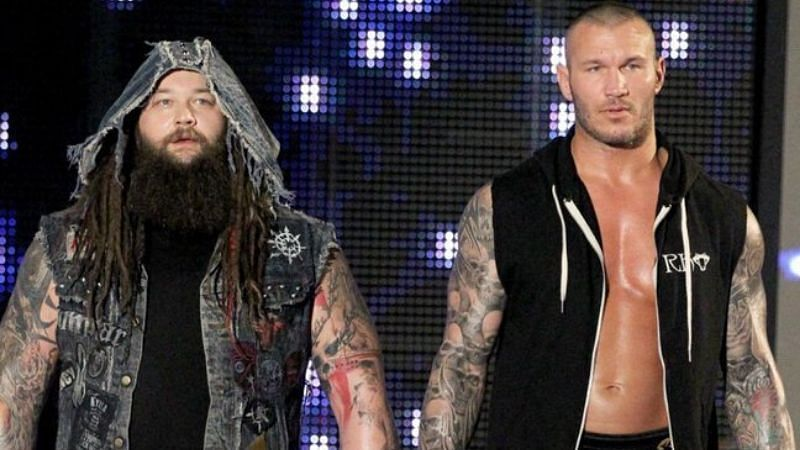 Bray Wyatt and Randy Orton held the SmackDown Tag Team titles