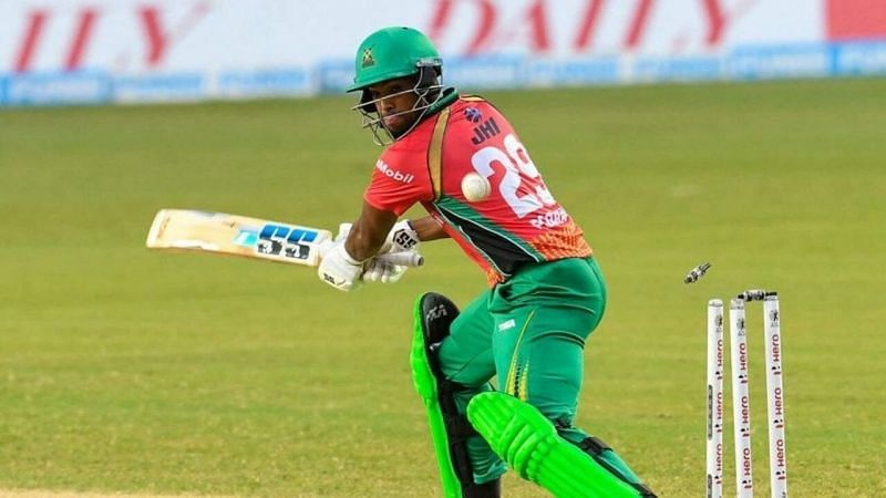 Nicholas Pooran was the star performer with the bat for the Warriors in the CPL