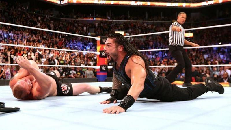 ब्रॉक लैसनर को अभी तक तीन सुपरस्टार्स ने SummerSlam के मेन इवेंट में हराया है