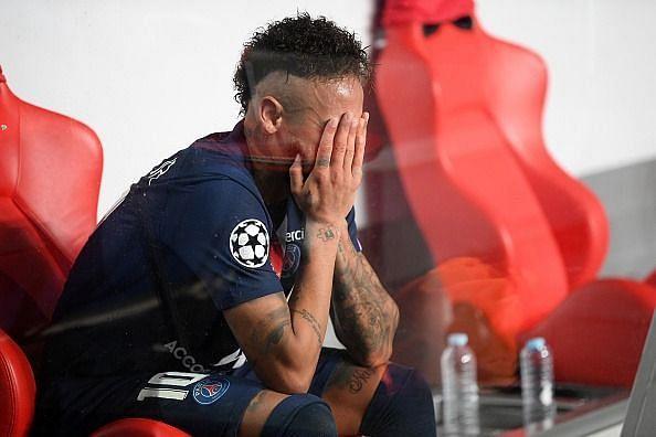Neymar could not score against Bayern Munich