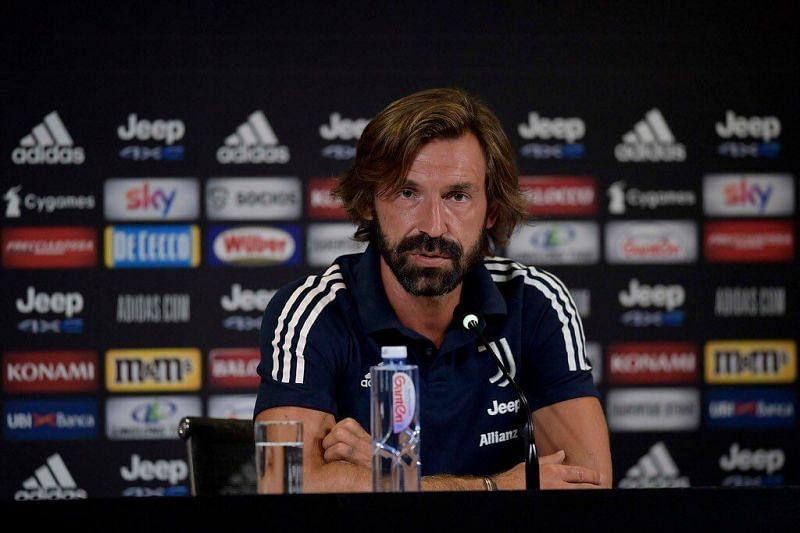 Andrea Pirlo is looking to make his first big move as Juventus manager