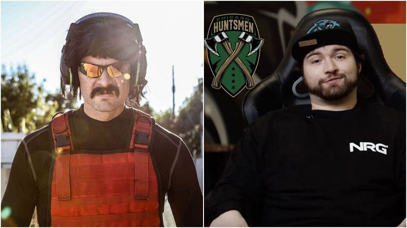 Dr Disrespect will not be playing alongside Twitch streamer x2Pac