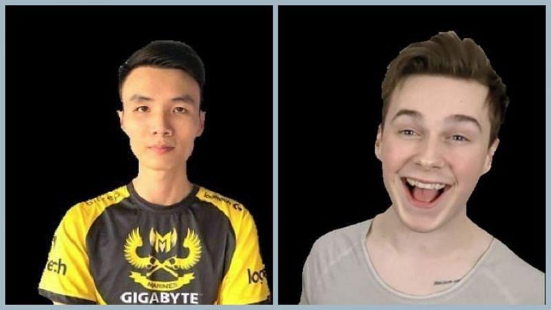 PUBG Mobile: Tacaz vs Panda (Image Credits: SK)