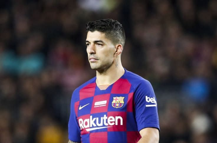 Luis Suarez is widely tipped to leave Barcelona