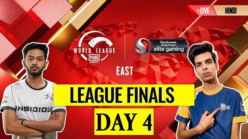 The PMWL 2020 East League Finals Day 4 schedule is out (Image credits: PUBG Mobile Esports)