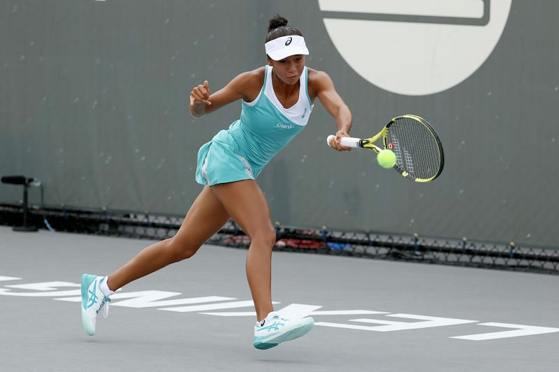 Leylah Fernandez at the 2020 Top Seed Open