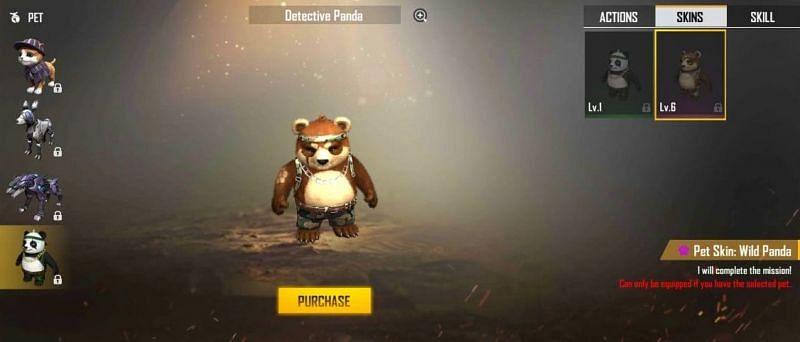 Wild Panda skin
