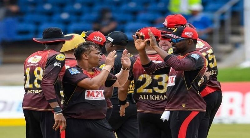 Pravin Tambe made his CPL debut for Trinbago Knight Riders