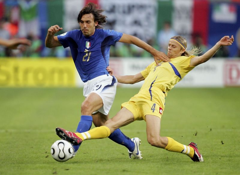 Andrea Pirlo played over 100 games of Italy during his career