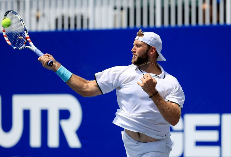 Jack Sock trails Cuevas by 2-0 in the H2H