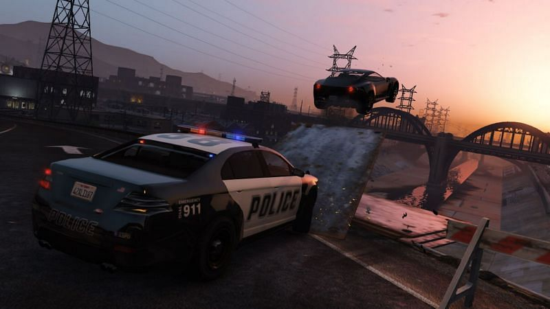 With next-gen graphics, fans would love to see what it feels to be on the other side of the law (Picture: Rockstar Games)