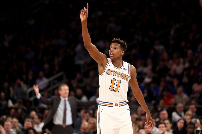 Golden State Warriors are reportedly interested in New York Knicks guard Frank Ntilikina