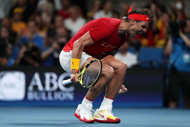 I haven't talked a lot with Rafael Nadal but he's my idol ...