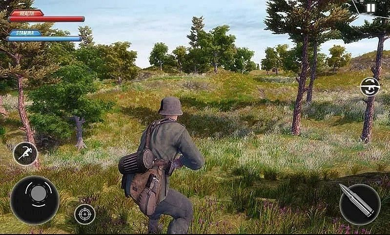 US Army Commando Battleground Survival Mission (Image Credits: Google Play Store)