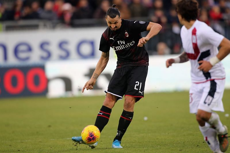 Zlatan Ibrahimovic is AC Milan
