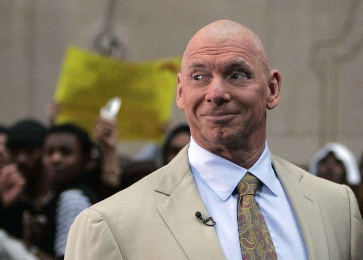 Vince McMahon after his Hair vs Hair Match