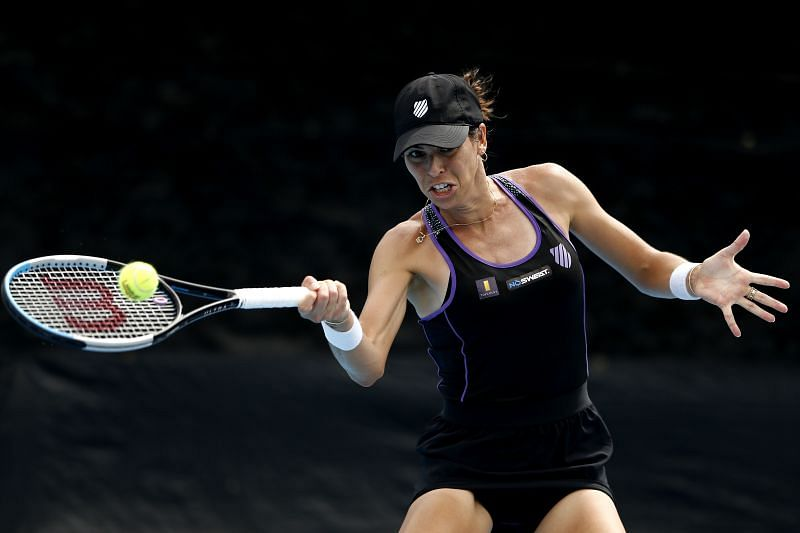 Ajla Tomljanovic trails in their head-to-head record